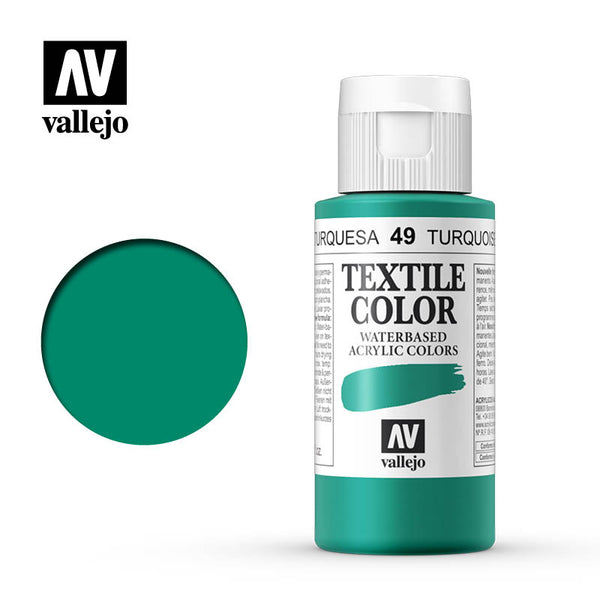 40.049 - Turquoise - Opaque - Textile Color - 60 ml