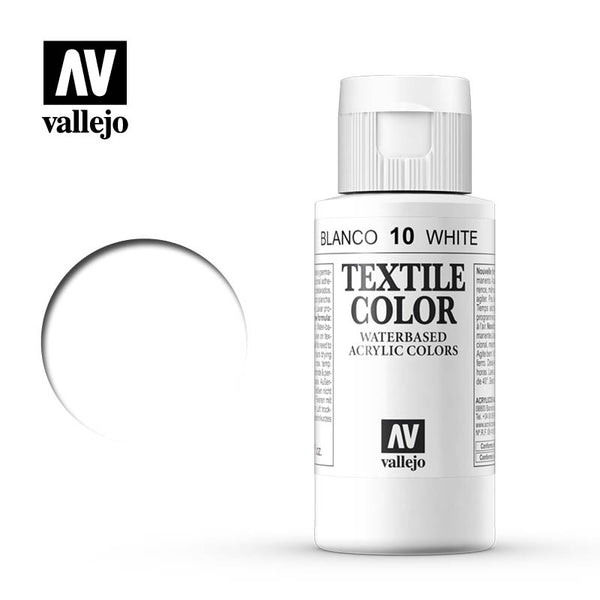 40.010 - White - Opaque - Textile Color - 60 ml