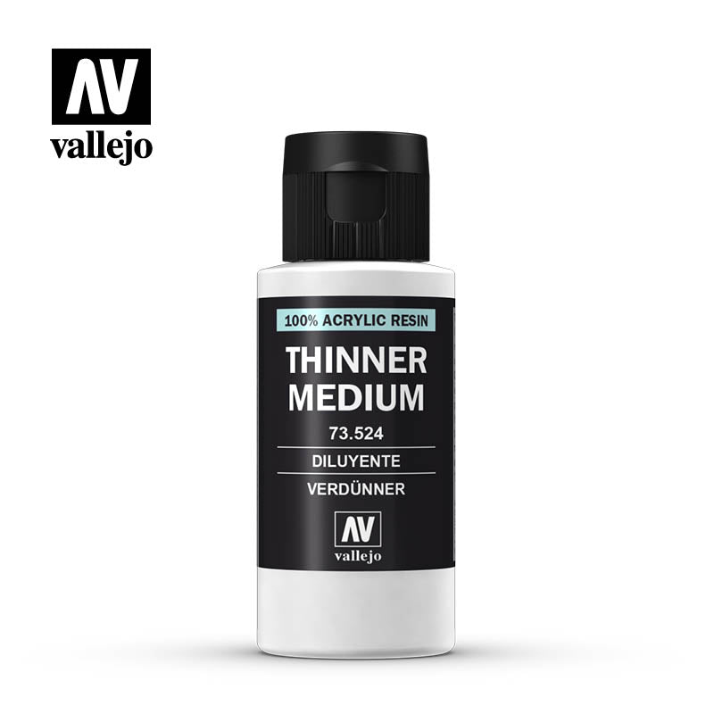 73.524 Thinner 60 ml - Vallejo Model Color - Supernova Studio
