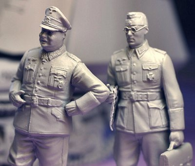 TS35006 - Tristar 1/35 German Officers Field Session Set (4 Figures)
