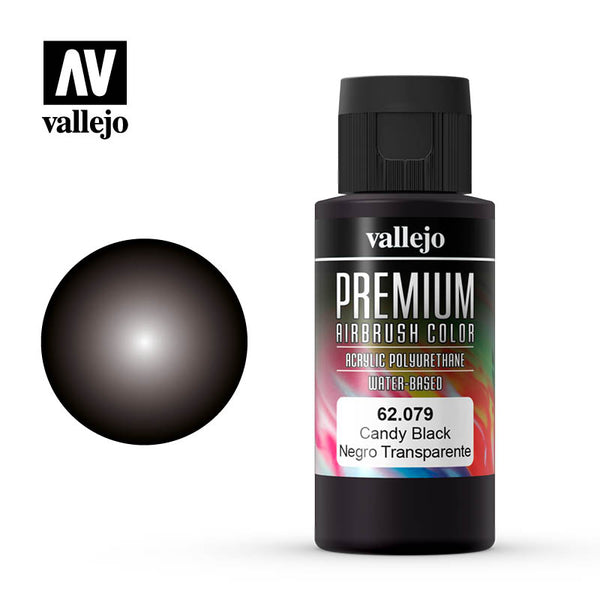 62.079 - Candy Black - Premium Airbrush Color - 60 ml