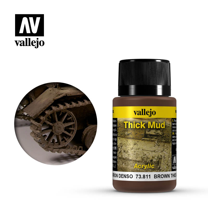 73.811 Brown Thick Mud - Vallejo Weathering Effects