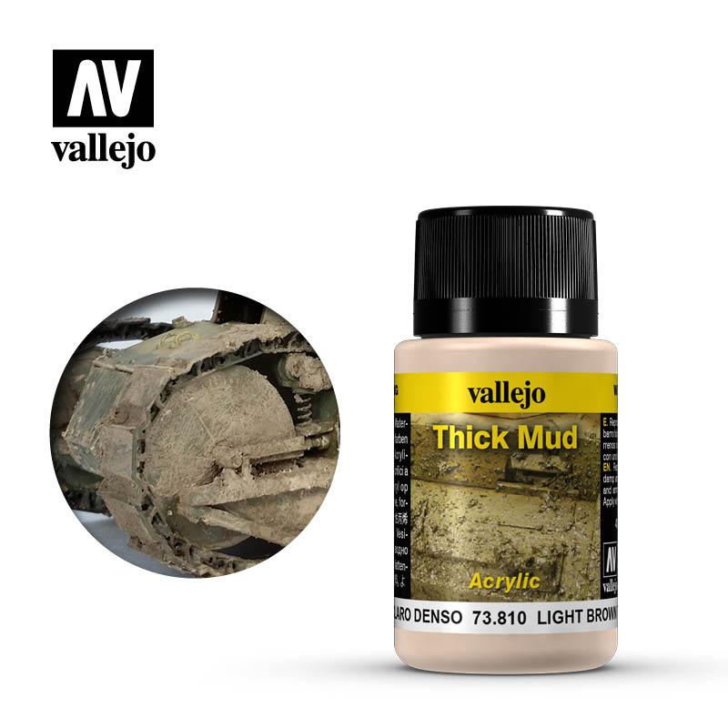 73.810 Light Brown Thick Mud - Vallejo Weathering Effects