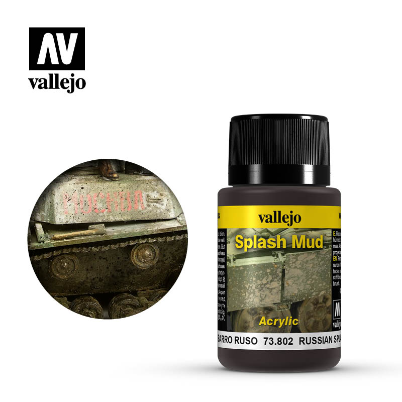 73.802  Russian Splash Mud - Vallejo Weathering Effects