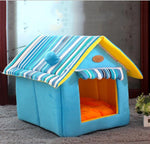Cat Bed Cave <br/> Blue House - The Cat Paradise