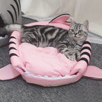 baby shark cat bed