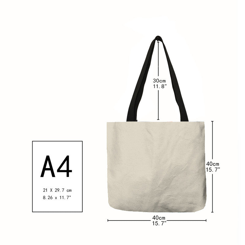 Cat Tote Bag <br> Grey and white kitten