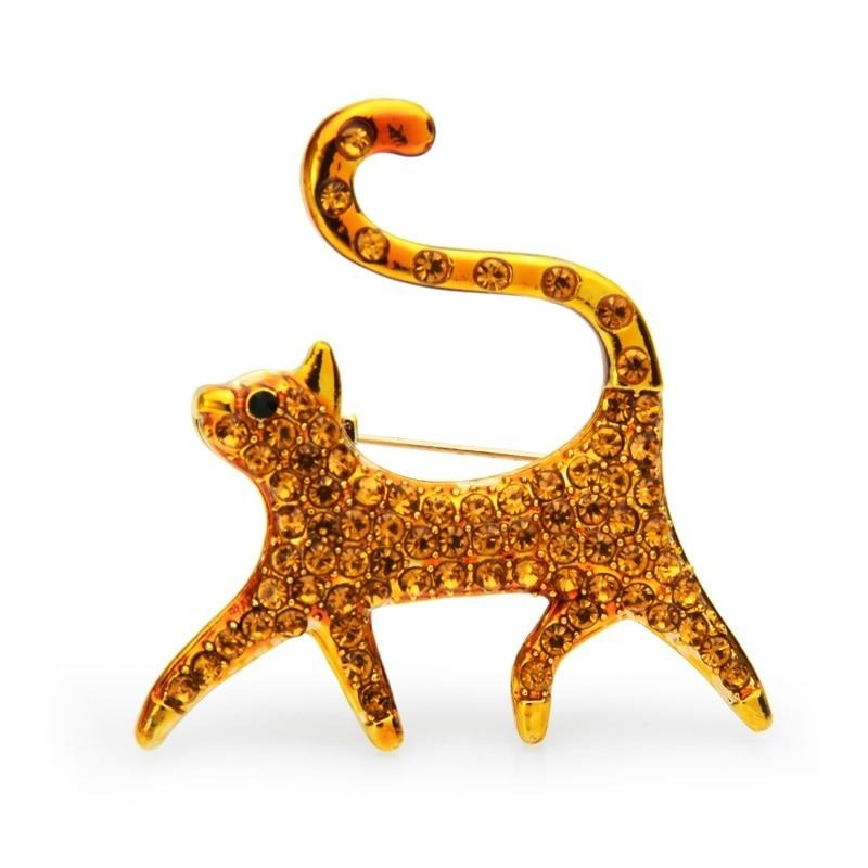 Cat Brooch - Proud Cat