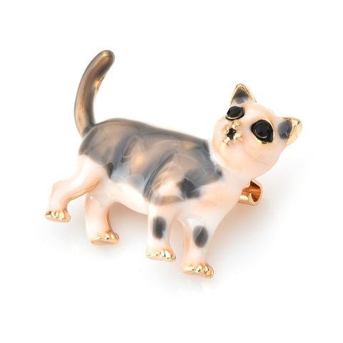 Cat Brooch - Cute kitten
