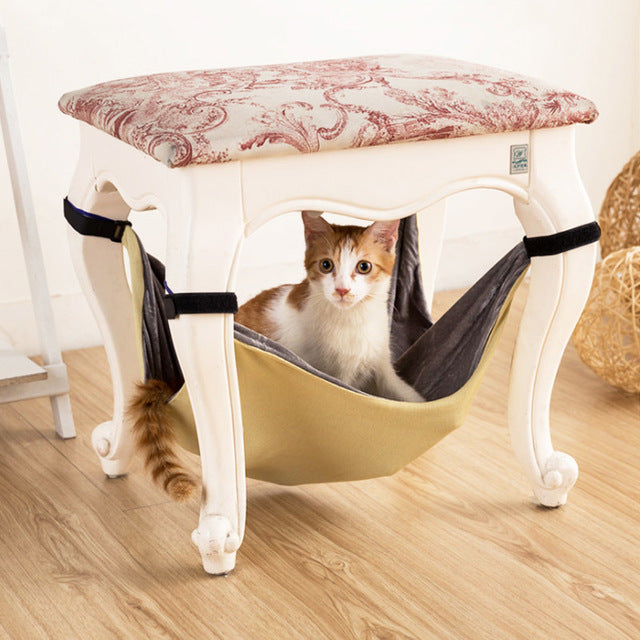 Hammock Cat Bed <br> Hanging Cat Bed - The Cat Paradise