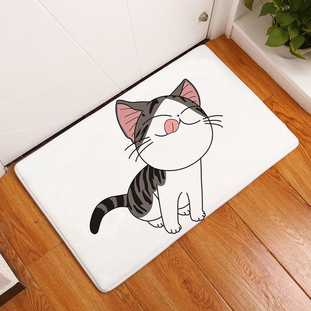 Cat Mat <br> Hungry cat - The Cat Paradise