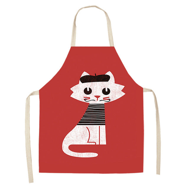 Cat Apron <br> French Cat - The Cat Paradise