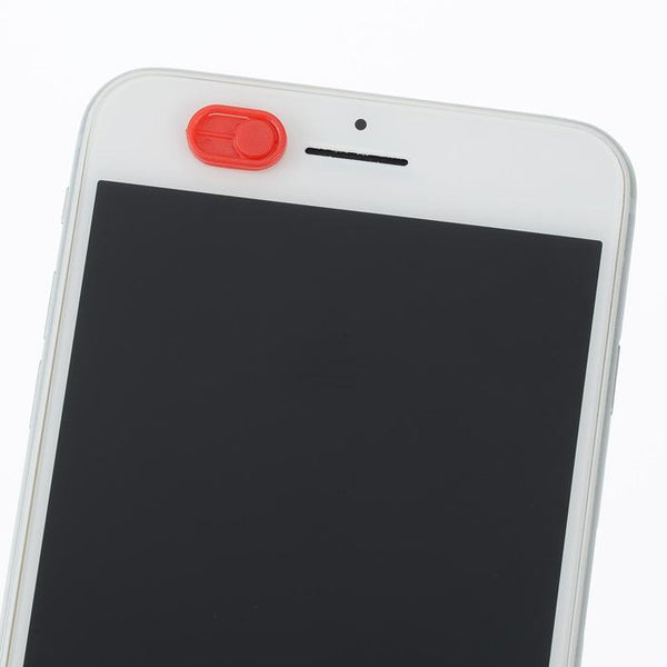 Front Camera/Web Camera Privacy Cover - (Red) - Retailopolis