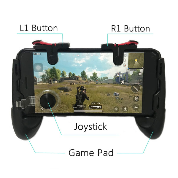New PUBG/Fortnite Mobile Gaming Joystick/L1R1 Trigger Controller - Retailopolis
