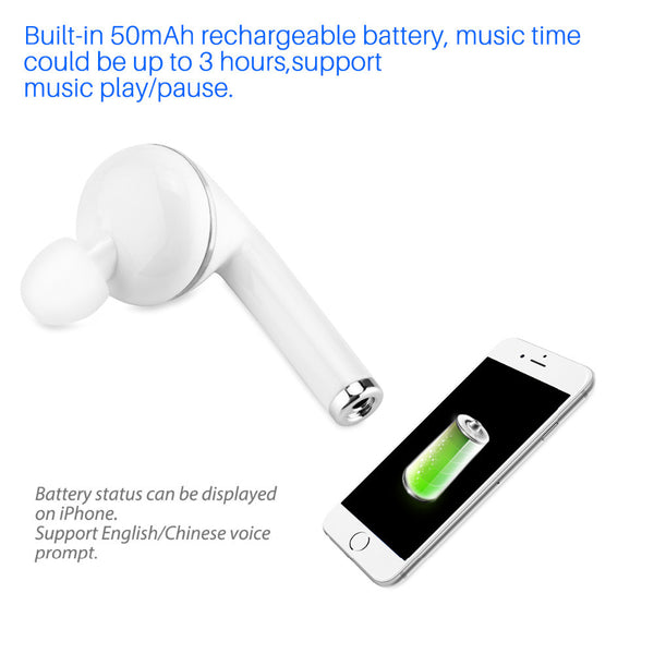 Invisible Single Wireless Bluetooth 4.1 HD Earbud - Retailopolis