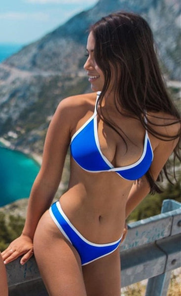Multi-color Swimwear Women's Bikini Set - Retailopolis