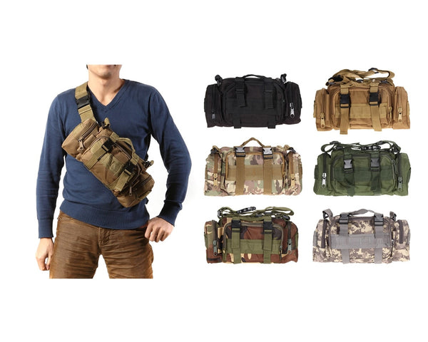 3L/6L Waterproof Military Tactical Backpack/Pouch/Bag /Waist Bag - Retailopolis