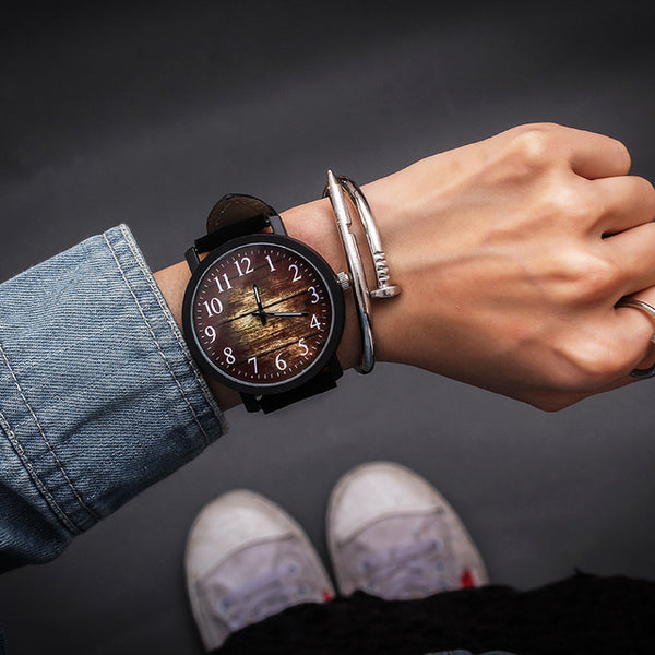 Trendy Hip Retro Fashion Quartz Wristwatch - Retailopolis