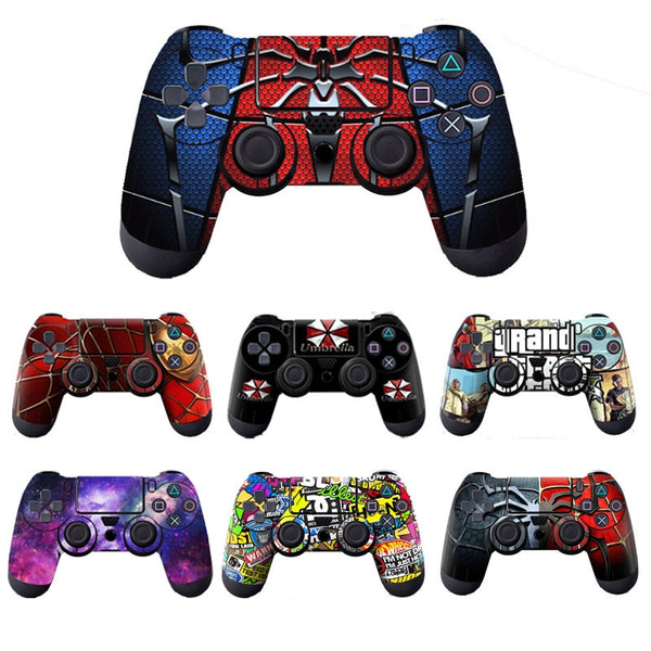 Cool Trendy Controller Skin Stickers Decals for PS4 Controllers