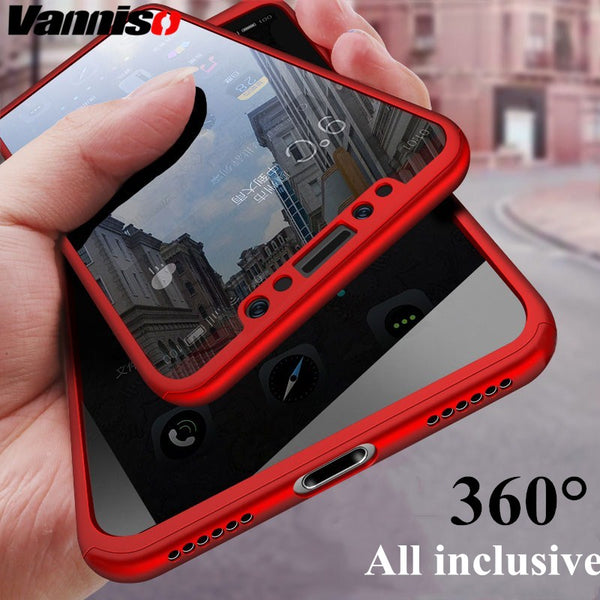 360 Degree Hard PC Shockproof Cellphone case for iPhone - Retailopolis