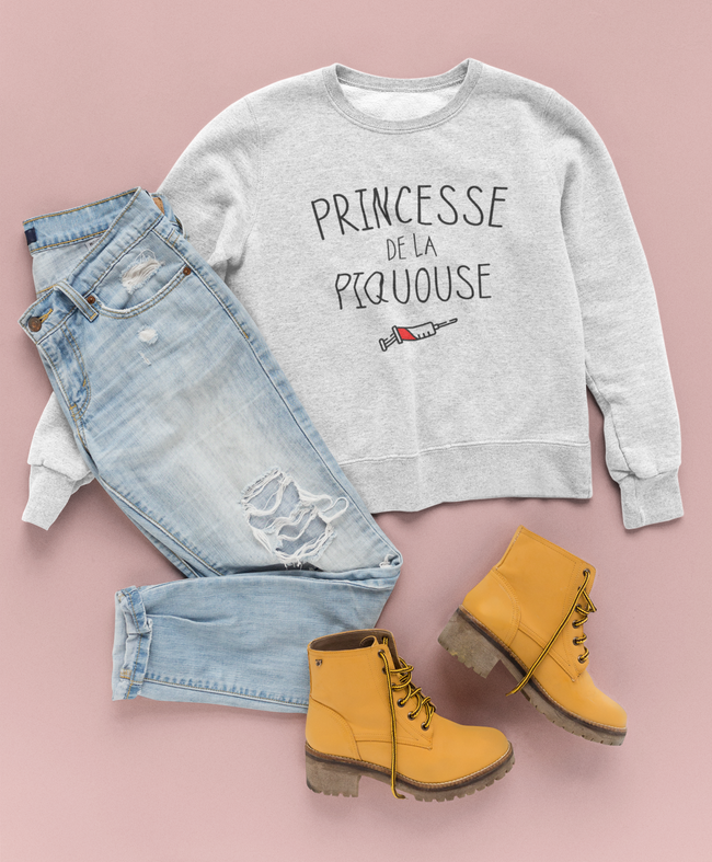 Sweat Princesse de la piquouze