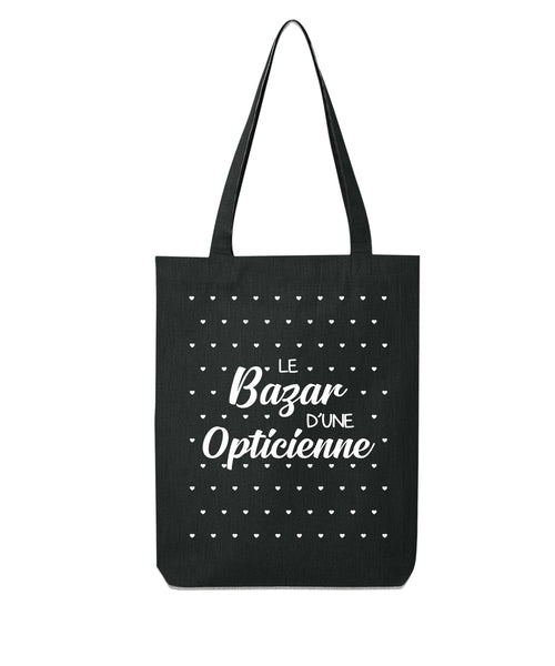 Tote bag Bazar cœur Opticienne