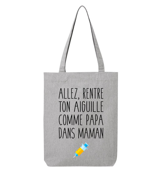 Tote bag Aiguille