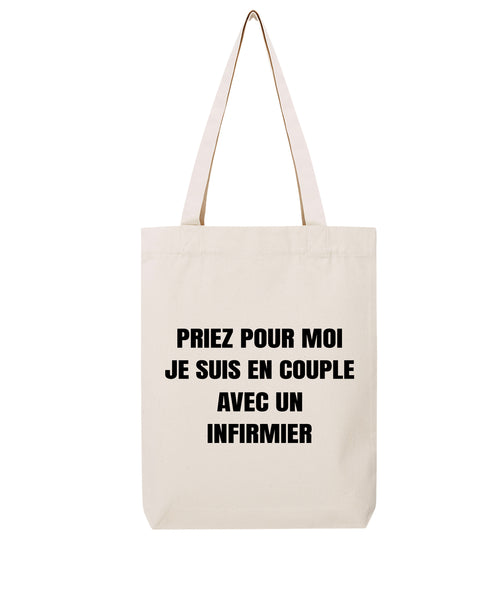Tote bag En couple F