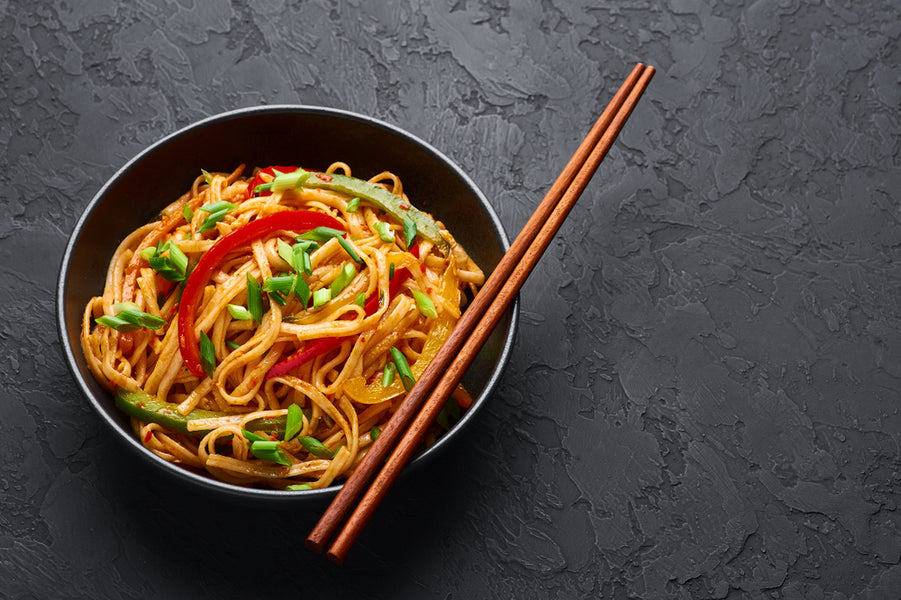 Vegetable Chinese Chow Mein