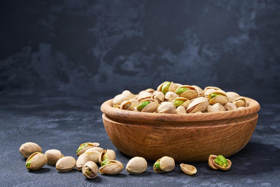 Quarter Cup of Pistachios