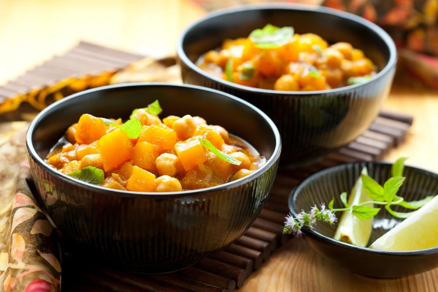 Spiced Butternut Squash & Vegetable Stew