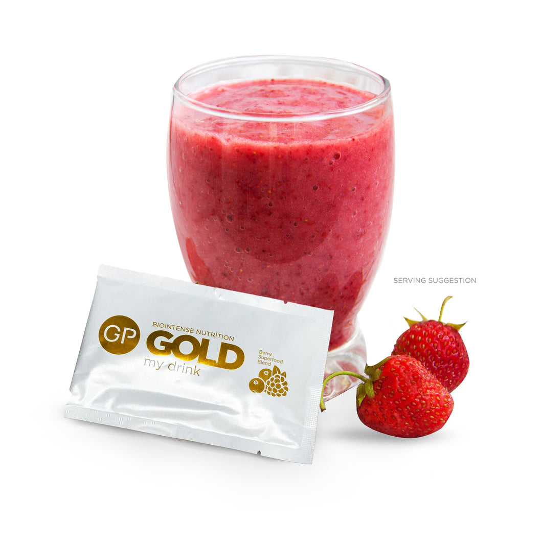 GP GOLD Superfood Smoothie (7 Drinks)
