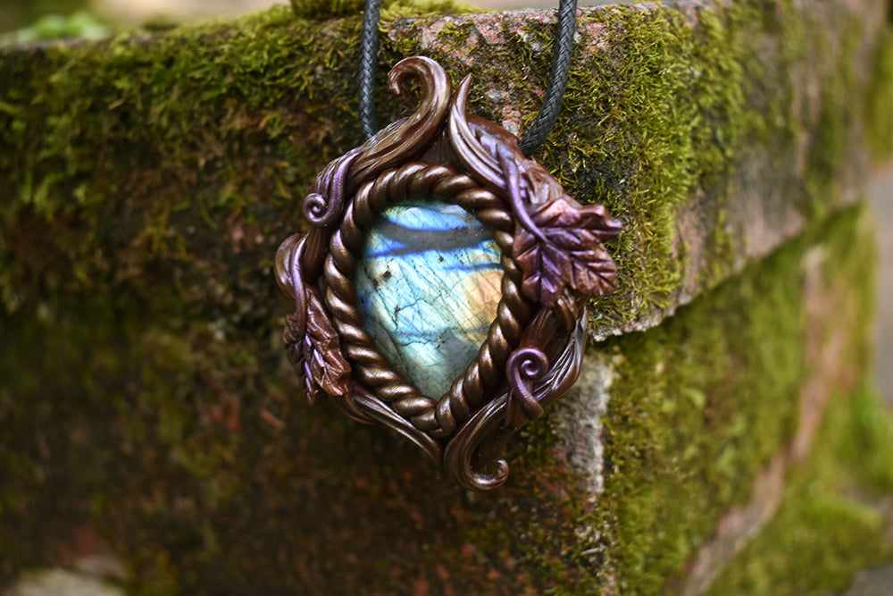 Labradorite Forest Necklace