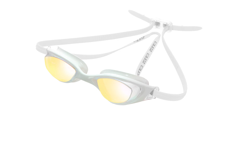 Aspect Goggles White/clear Rainbow lens
