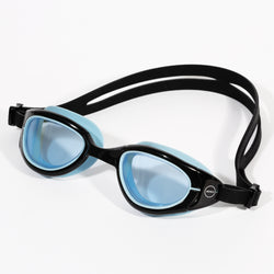Attack Goggles Black/Blue Tinted lens