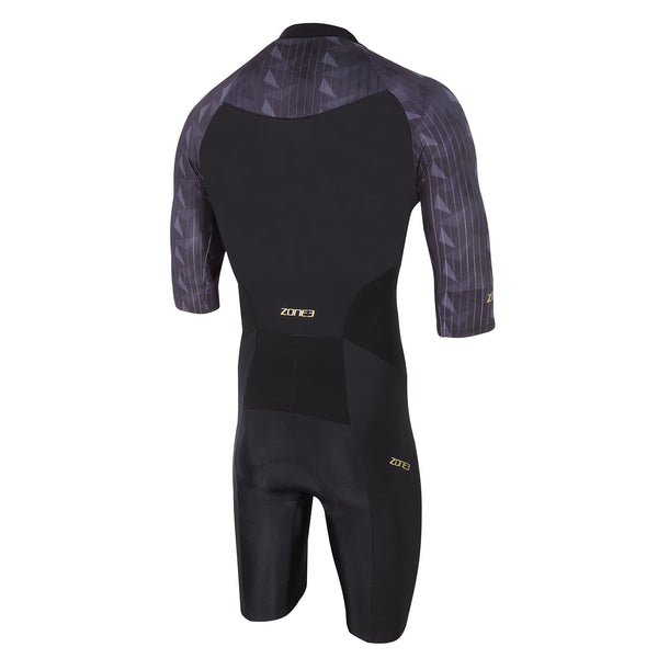 Men's Lava Long Distance Short Sleeve Trisuit