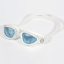 Vapour Goggles Clear/white Tinted blue lens