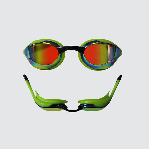 Volare Streamline Racing Swim Goggles Neon