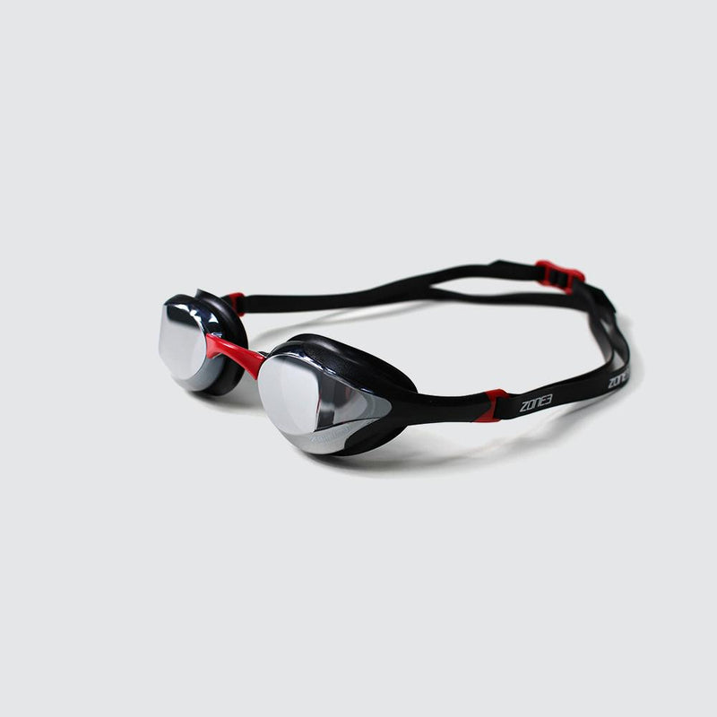 Volare Streamline Racing Swim Goggles Bk/rd
