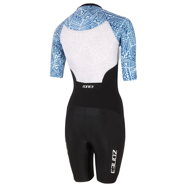 Women's Lava Short Sleeve Trisuit