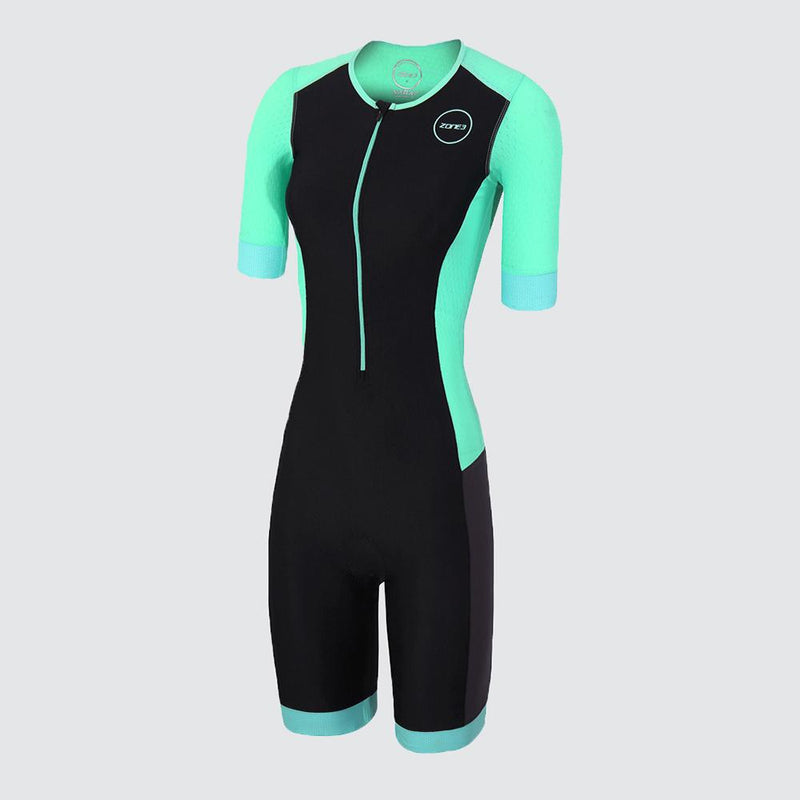 Women's Aquaflo Plus Short Sleeve Trisuit