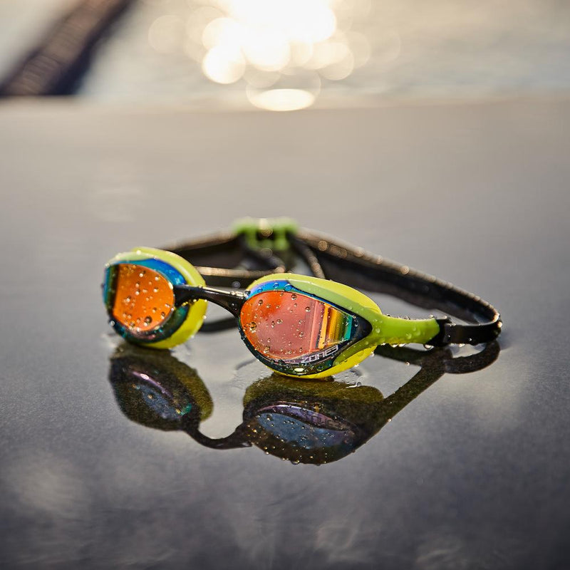 Volare Streamline Racing Swim Goggles Clear lens