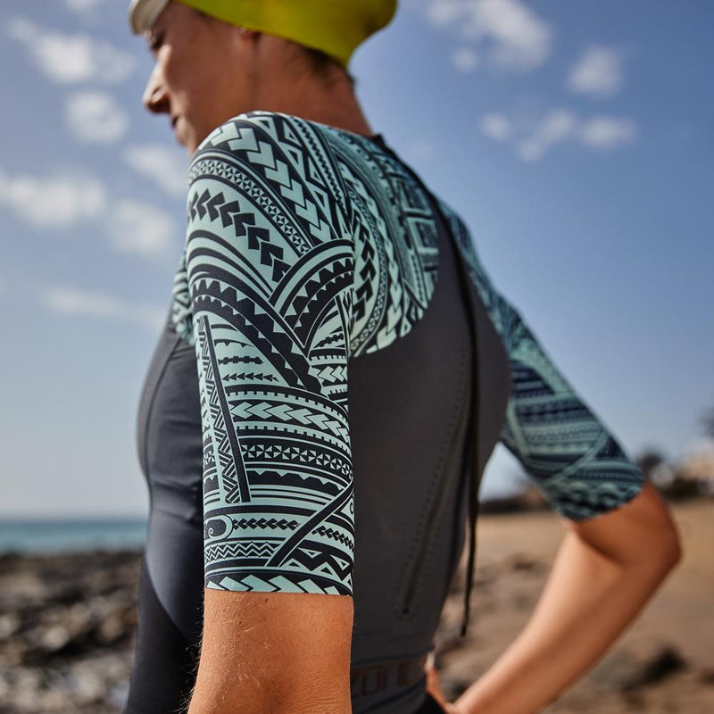 Women's Kona Target Short Sleeve Swimskin