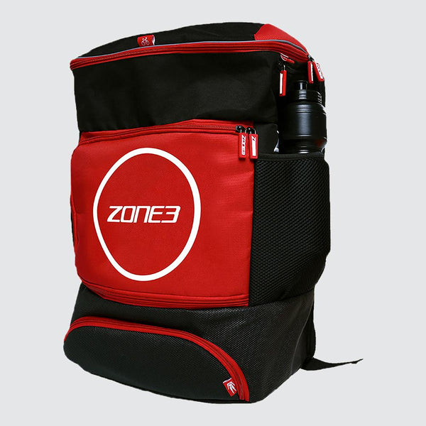 Transition Backpack Black/red