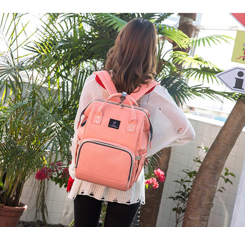 Diaper Bag Backpack with USB Connector