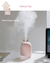Load image into Gallery viewer, Ultrasonic Air Humidifier, Aroma Essential Oil Diffuser with LED Night Lamp