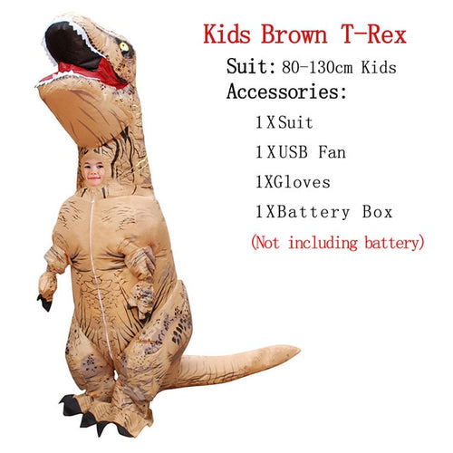 Inflatable T-REX/Dinosaur Costume For Children