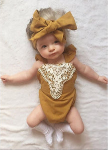 Little Girl Fashion: The Lace Romper
