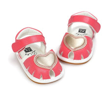 Load image into Gallery viewer, Baby Sweet Heart Sandals (4 colors)