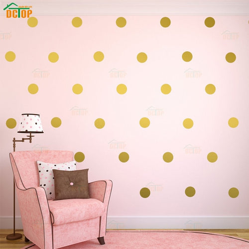Polka Dot Wall Stickers (11 colors)